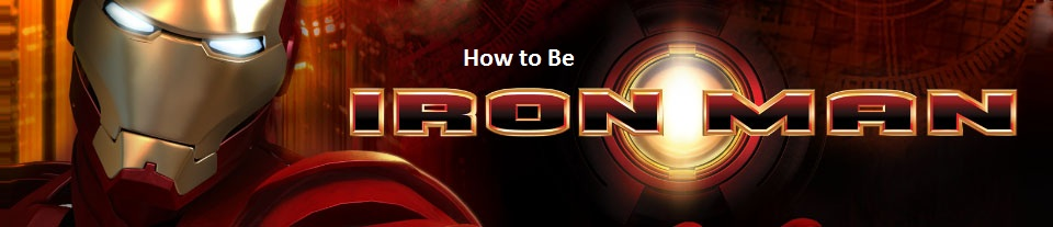 Making an Iron Man Helmet and Armor