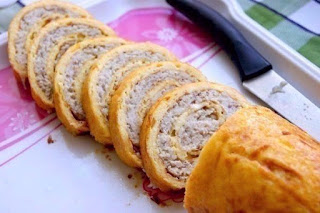 Chicken and cheese roll recipe