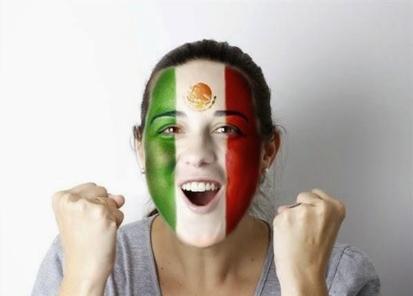 Como pintar tu cara con los colores de tu equipo favorito for Los colores para pintar