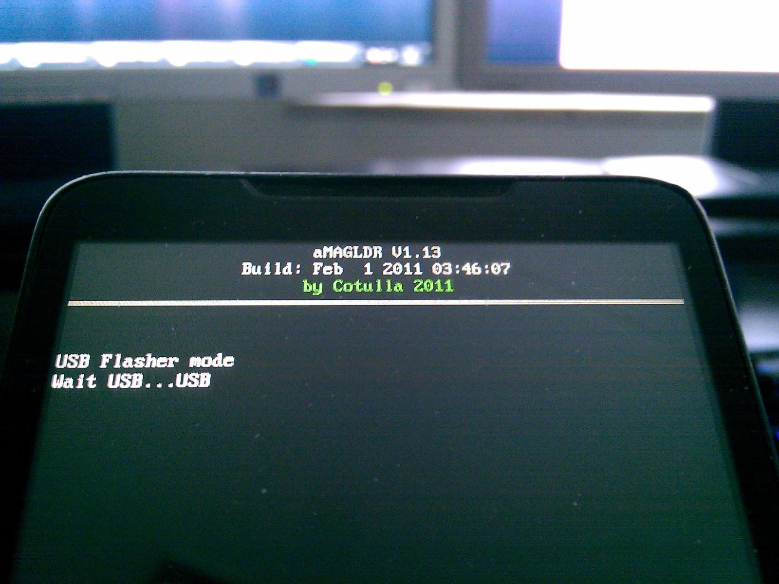 usb flasher mode wait usb usb
