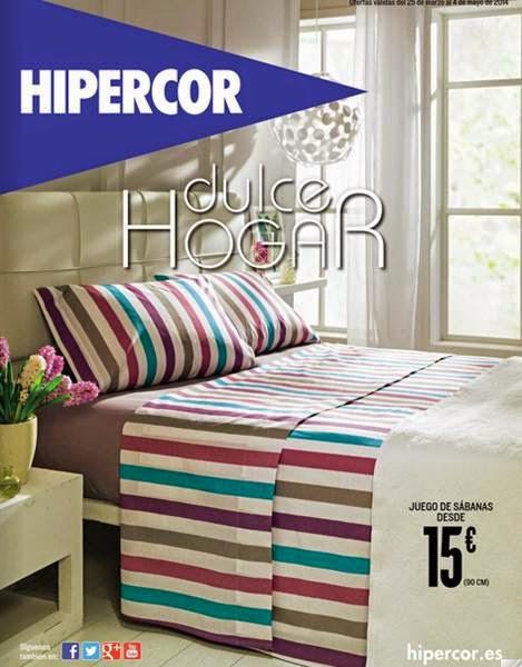 catalogo hipercor dulce hogar abril 2014