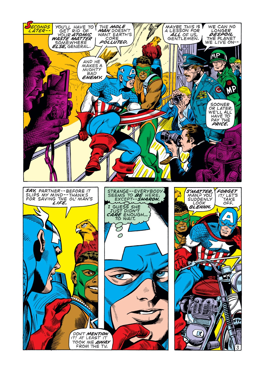 Captain America (1968) Issue #137 #51 - English 4