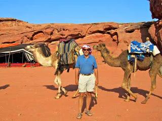 Wayne Dunlap Bedouin Camp Jordan