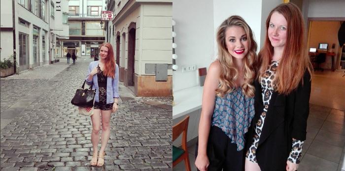 lucie srbová, denisa kraftová, módní blogerky, české blogerky