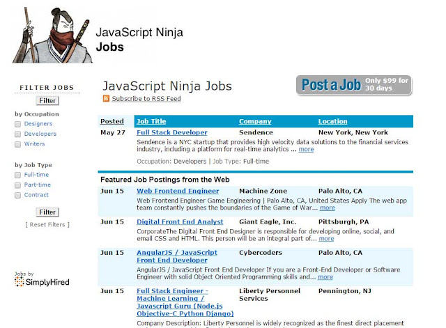 Jsninja Jobs