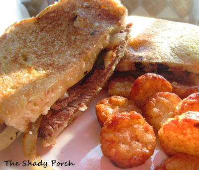 Pot Roast Panini by The Shady Porch