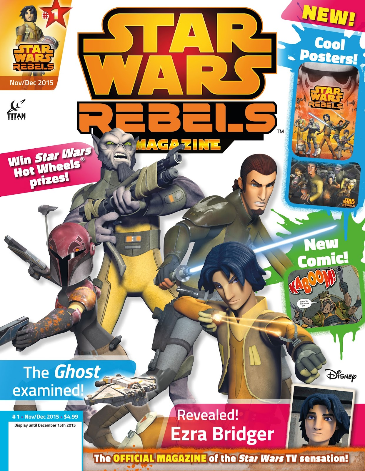 39 star wars rebels magazine 39 launching on october 20th the star wars underworld. Black Bedroom Furniture Sets. Home Design Ideas