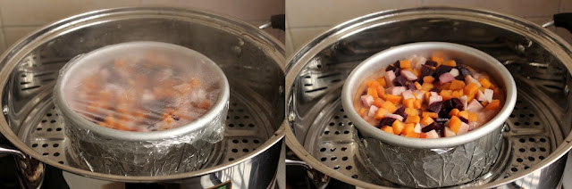 Sweet potato - Yam cake