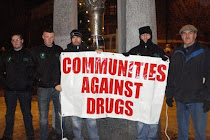 Stand against drugs and dealers!