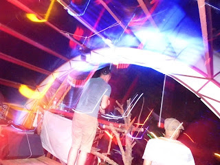 DJs Rory Gallagher and Pablo Escobud at Jungle party Koh Phangan