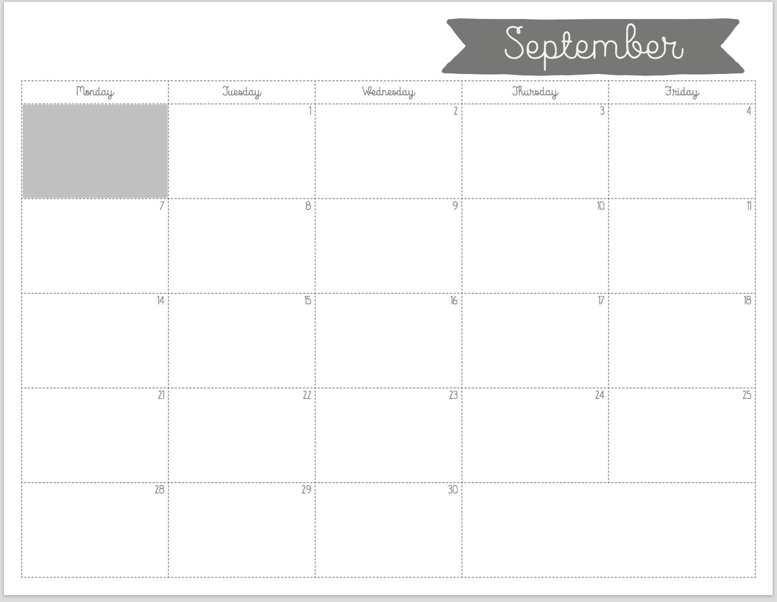 Free Printable Calendar Templates For Teachers Free Printable