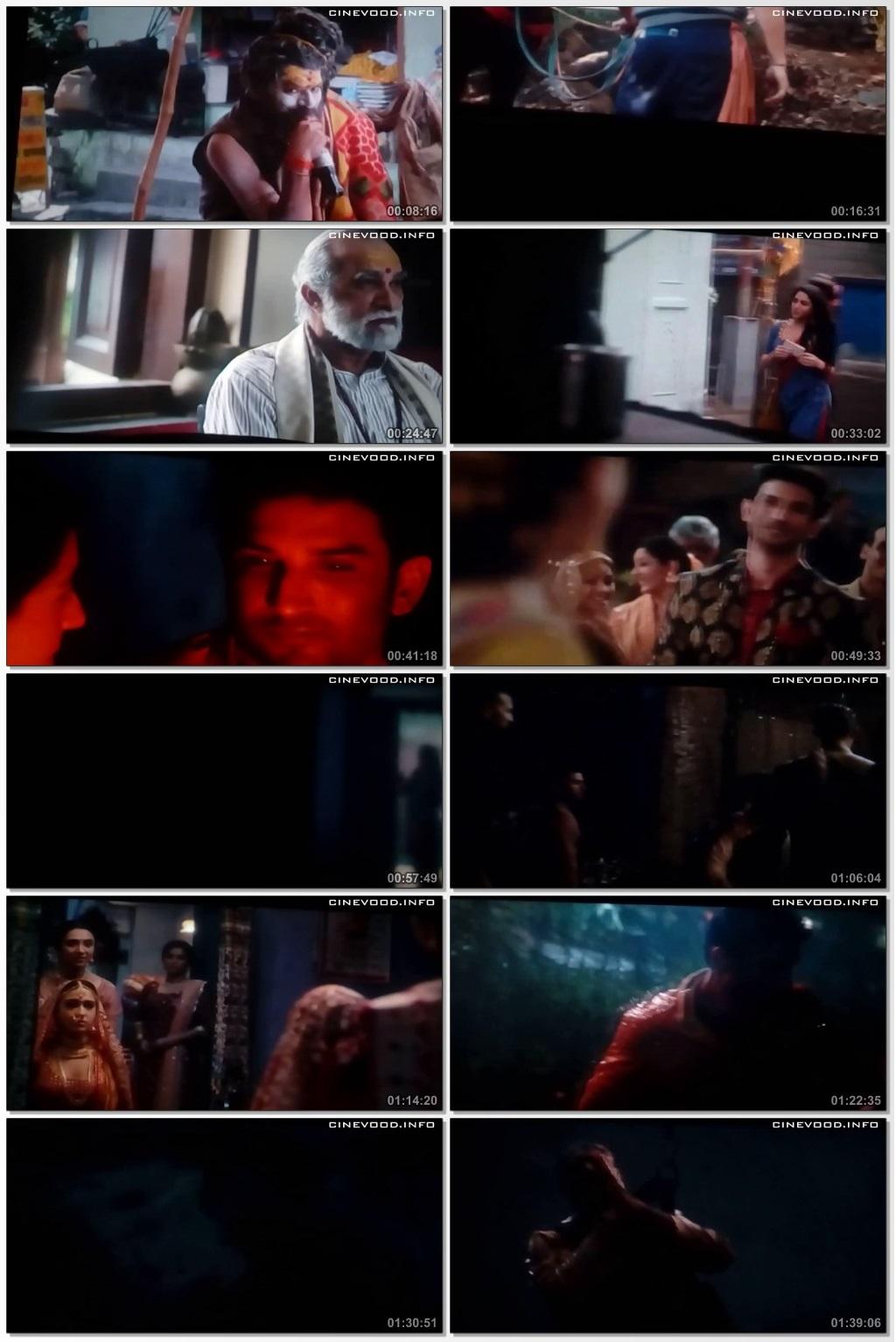Screen Shot Of Kedarnath 2018 300MB Pdvd Full Hindi Movie Watch Online Free Download