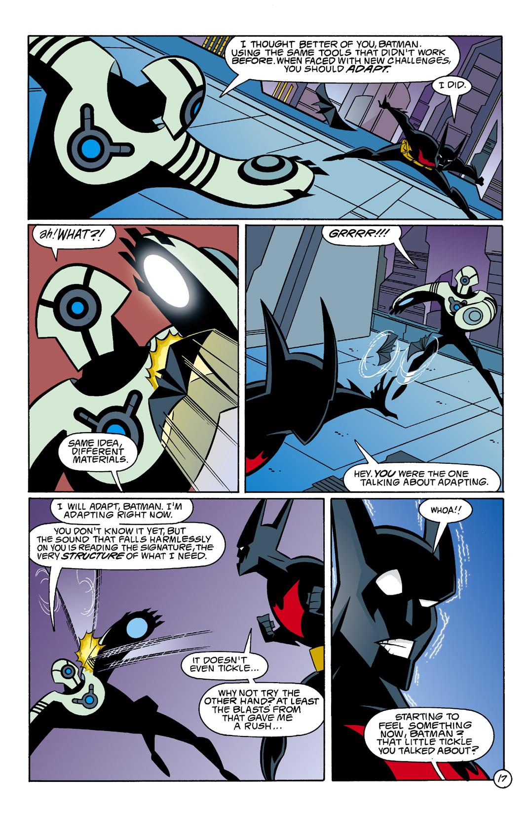 Batman Beyond [II] Issue #5 #5 - English 18