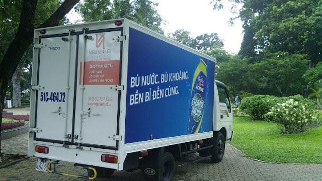 Thuê xe tải chở hàng Revive