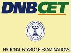 DNB CET Results 2014