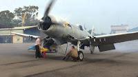 Honduras,Corsair airplane,