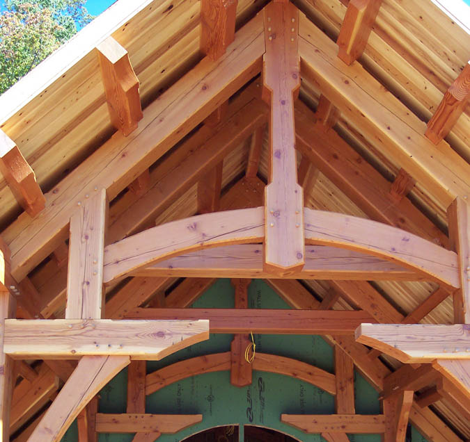 Norwood craft what is post and beam timberframing