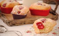 Mini cakes de frambuesas para el desayuno