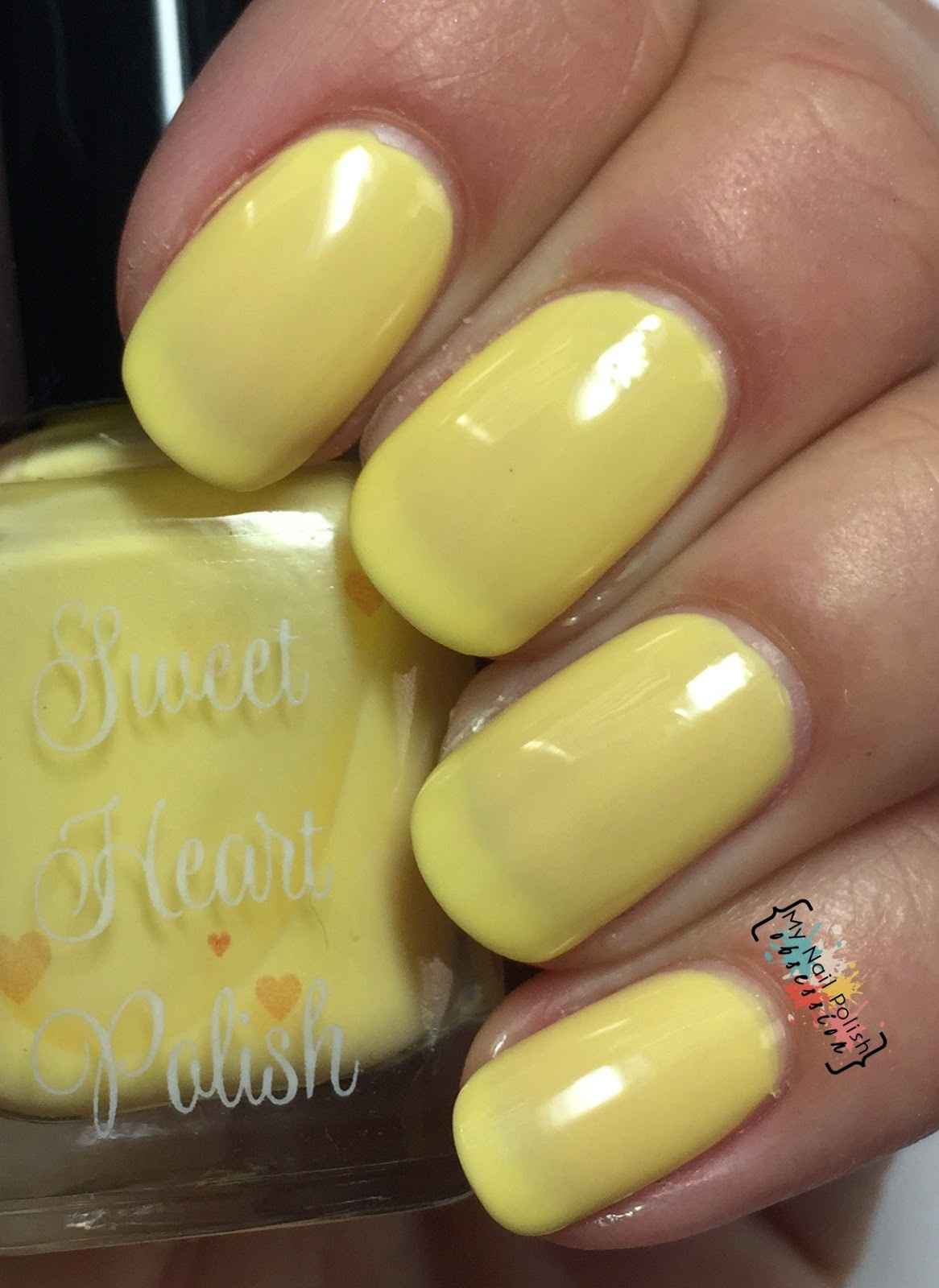 Sweet Heart Polish Pineapple Whip