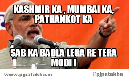 Narendra modi on pakistan meme