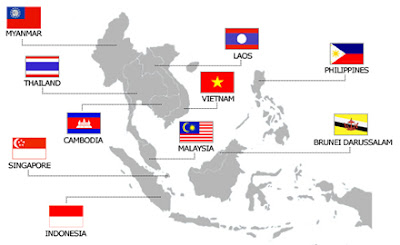 ASEAN Map Countries