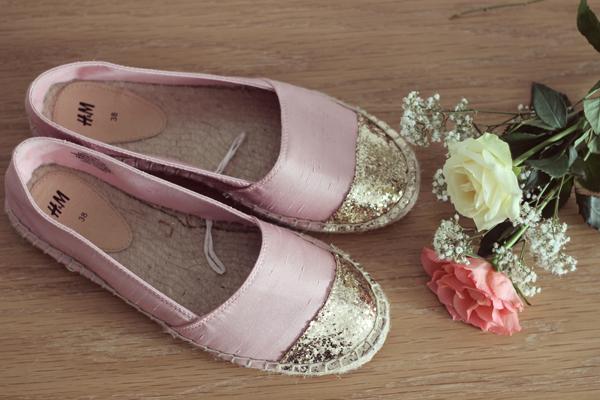 Pink Spring Summer Espadrilles H&M