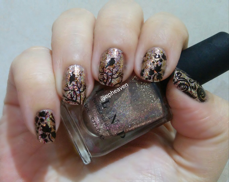 ilnp clockwork nail art