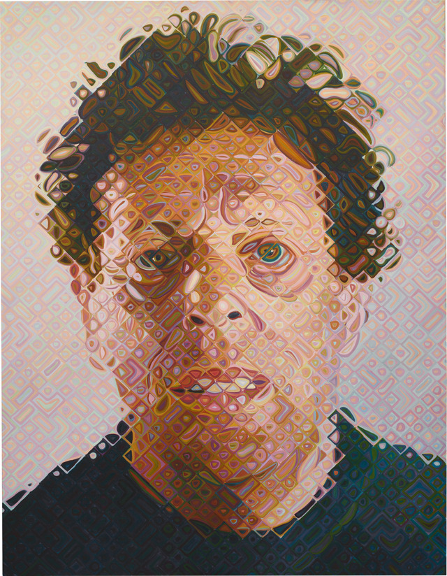 Doctor Ojiplático. Chuck Close