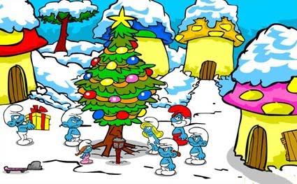 La Ultima Navidad de los Pitufos