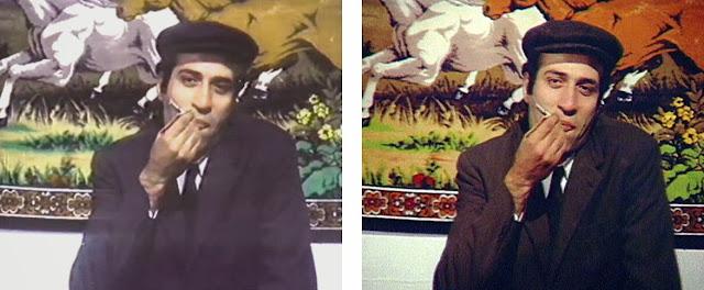 Kemal Sunal - Çöpçüler Kralı Filminden Renklendirme Manipülasyon