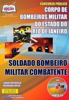 Concurso Corpo de Bombeiros Militar / RJ  SOLDADO COMBATENTE 2014