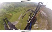 Paragliding Glencar Lake to Ben Bulben, Írsko