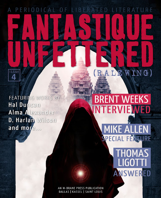 Cover of Fantastique Unfettered 4