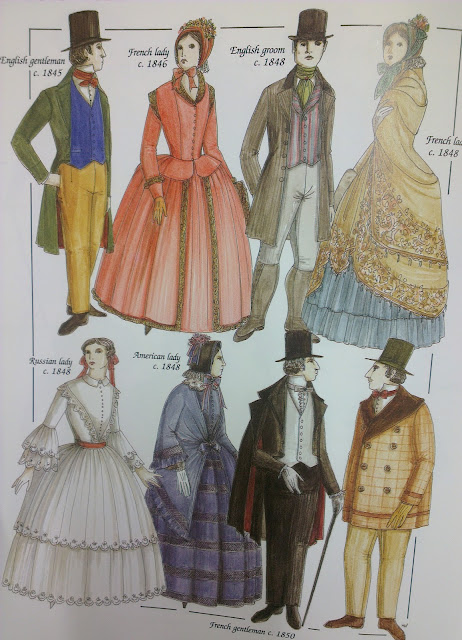 1800 fashion,western costume,john peocock