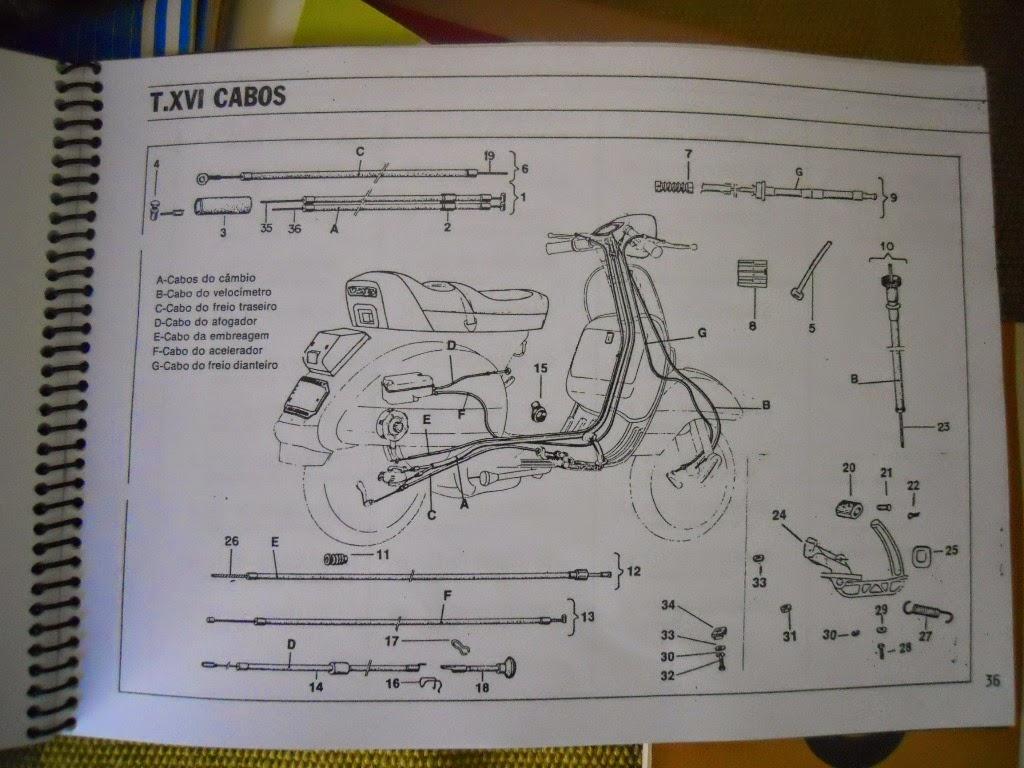 Motoneta Floripa Julho 2014 Vespa Px200e Wiring Diagram Catlogo De Peas Da Px 200