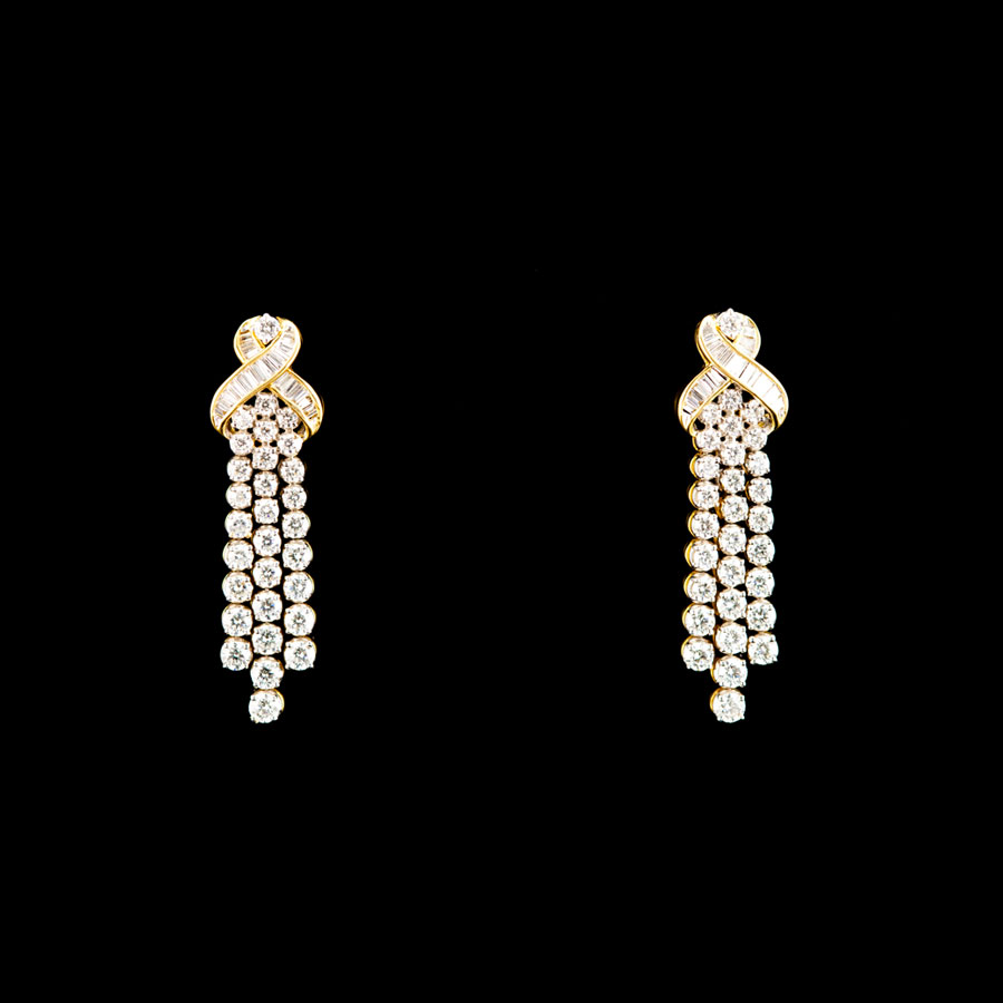 malar world kfj diamond earring designs