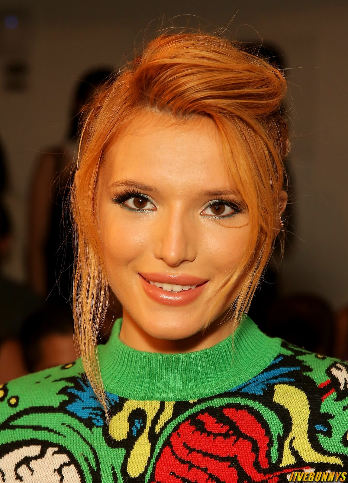 Bella Thorne - Jeremy Scott Fashion Show NY 9/10/2014