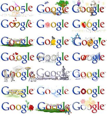 Tampilan Google Pada Perayaan