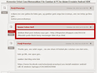 Contoh Optimasi Avatar Komentar Blogger