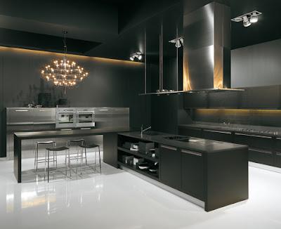 Cocinas todo al negro ministry of deco for Cucine moderne nere
