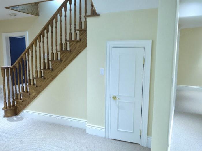 Etobicoke Basement Staircase
