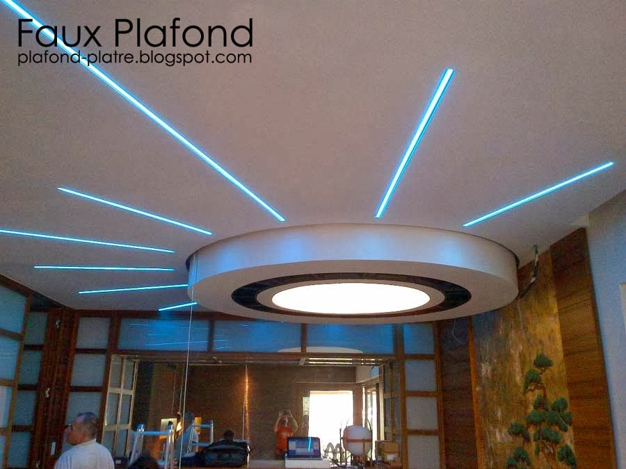 Faux plafond platre 2014 d coration et design - Decoration des plafonds ...