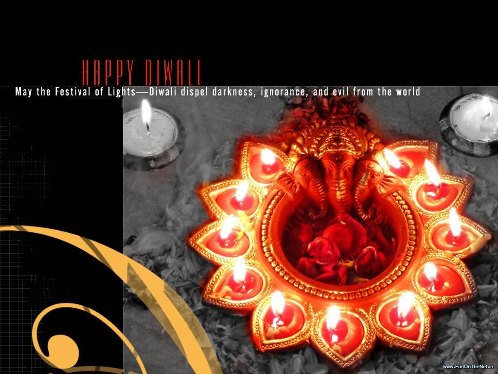 Most Beautiful Diwali Greetings Wishes Sms Wallpapers Satish24k