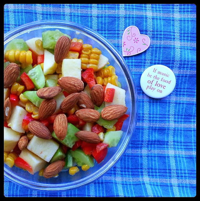 over 100 salad ingredients servicefromheart