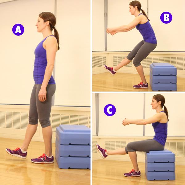 Cách giảm mỡ đùi và mông với bài tập ép mông