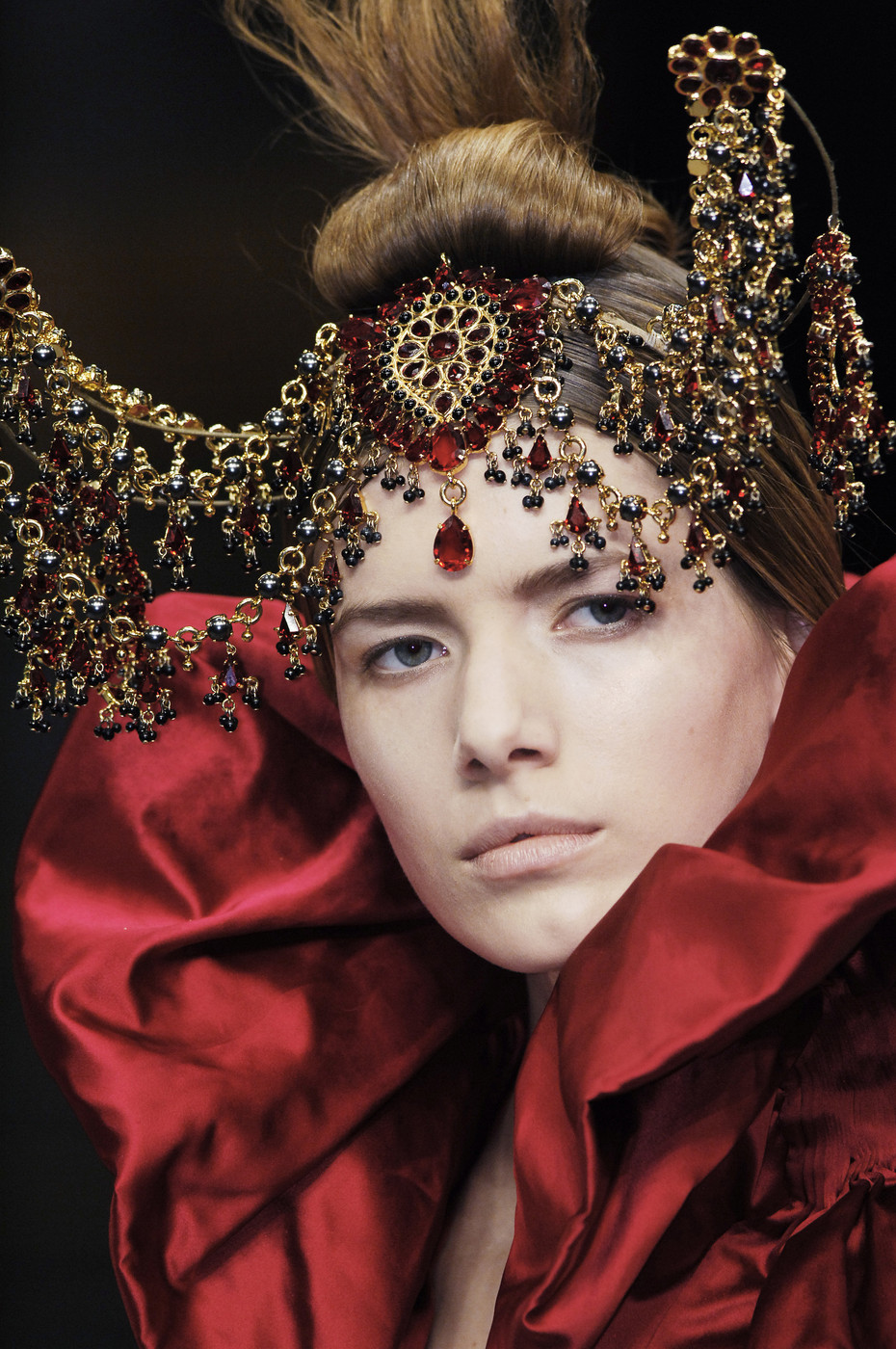 "Details of Alexander McQueen ""The Girl Who Lived in the Tree"" Fall/Winter 2008 collection"