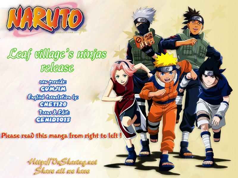 Naruto chap 433 Trang 1 - Mangak.info