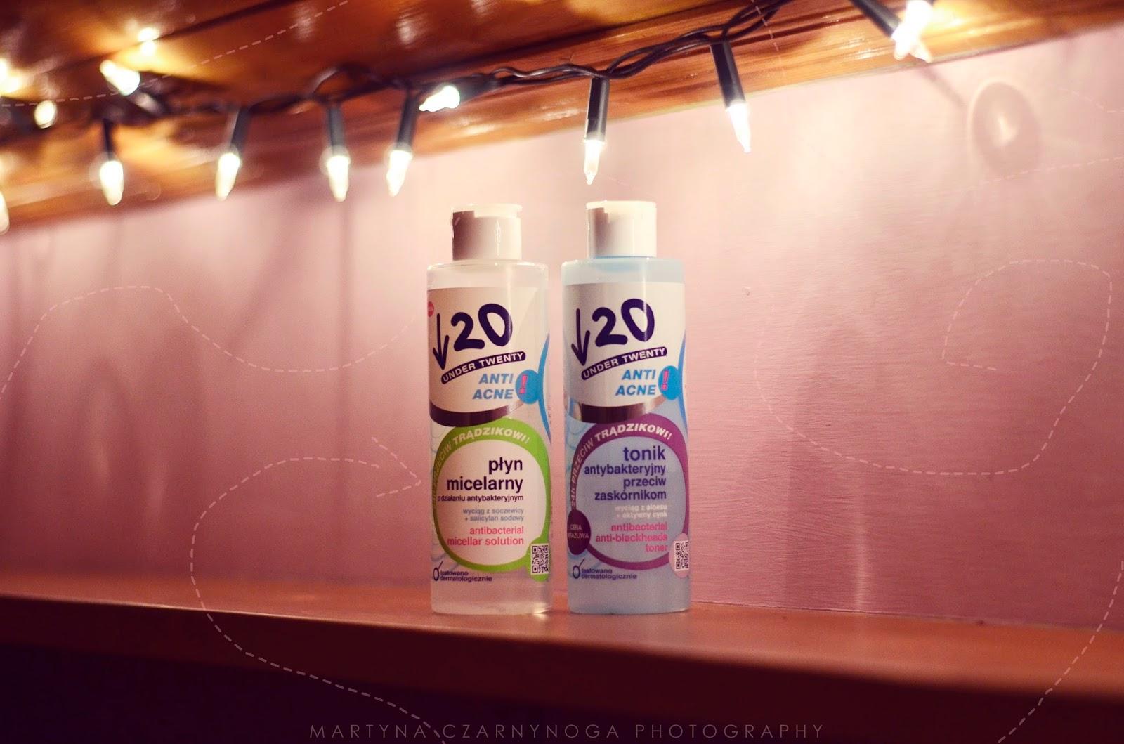 Tonik głęboko oczyszczający i płyn micelarny | Under20