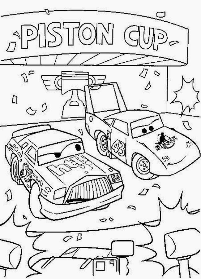 Disney Cars Coloring Pages : ぬりえ 子供 : 子供