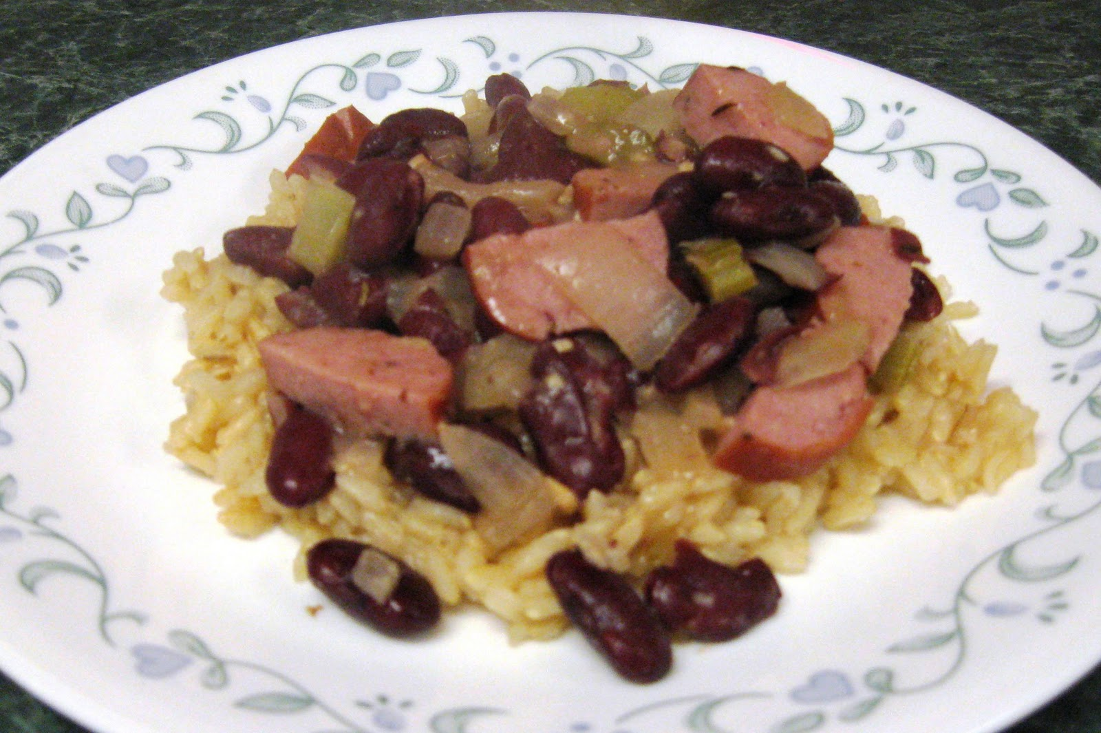 Debbi Does Dinner... Healthy & Low Calorie: Red Beans and Rice